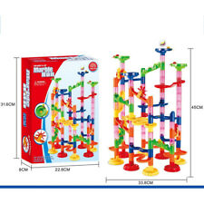 105 pcs Marble Run Race Set Construction Building Blocks Toy Game Track Kid Gift
