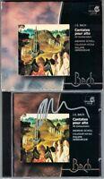 Philippe HERREWEGHE Signed BACH Solo Alto Cantatas BWV 35 54 170 Andreas SCHOLL