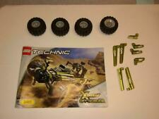 LEGO EXTREME OFF-ROADER 8465 PARTS Lot wheels panels Technic set incomplete