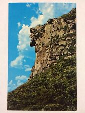 Old Man of the Mountains Franconia Notch, New Hampshire Chrome Postcard Unused