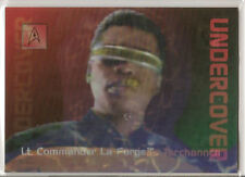 30 Years of Star Trek Phase 2 Trading Cards Undercover Chase Card L7 La Forge