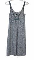 Tokito Womens Grey Floral Sleeveless Dress Size 10