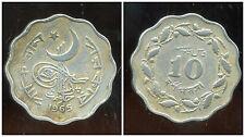 PAKISTAN  10  paisa 1965