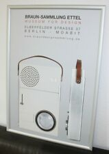 Dieter Rams Braun Radio Design  TP 1  Poster