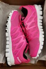 7687dfeba78 Reebok Women s Realflex Train 4.0 Rose Pink White Black Training Shoe 6  Women