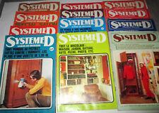 Système D- Revue du Bricoleur - 12 Numéros - Année 1973