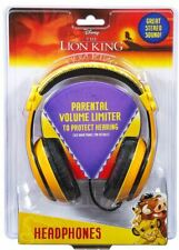 Kids Lion King Adjustable Stereo Tangle-Free 3.5mm Wired Cord Headset