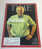 September 28, 2015 Time magazine ~ BERNIE SANDERS