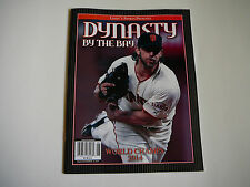SAN FRANCISCO GIANTS MAGAZINE DYNASTY BY THE BAY 2014WORLD CHAMPS LINDY'S SPORTS
