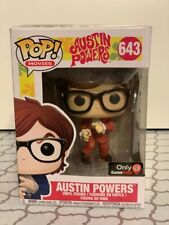 New listing Funko Pop Austin Powers Red Suit Game Stop Exclusive #643