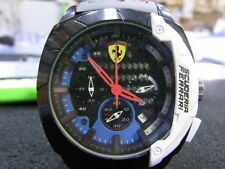All Original Ferrari MAN'S Chronograph Knight Water Stainless Steel Watch
