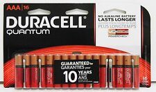 DURACELL Quantum AAA Alkaline Batteries With POWERCHECK MADE IN USA - Pack Of 16