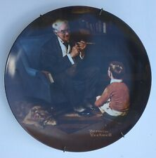 Normal Rockwell The Tycoon Decorative Plate 14717B Heritage Collection