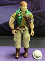 """G.I. Joe Law with helmet 1990 Vintage 3.75"""" Figure Hasbro"""
