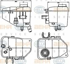 8MA 376 755-221 HELLA Expansion Tank  coolant