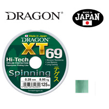 Fishing Line Dragon XT69 Hi-Tech SPINNING  MONO  JAPAN 125m