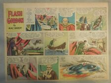 Flash Gordon Sunday Page by Mac Raboy from 4/10/1955 Half Page Size