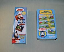Thomas & Friends Memory Match Game & Tic Tac Toe  LOT of 2