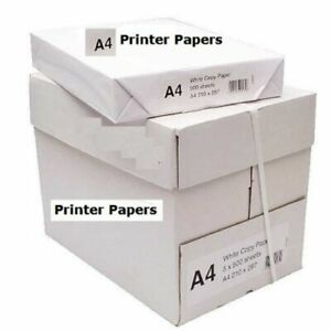 50 x Sheets Papers only 80gsm Laser Printer Papers For Photocopy Daily Printing