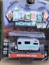 Greenlight  Hitched Homes  Series 2 1959 Siesta  travel Trailer Camper.
