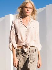Pete and Greta by Johnny Was Capras Oversize Button Down Shirt Top PG3131 New