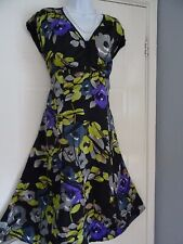 LADIES  MONSOON    STUNNING      SUMMER    TEA    DRESS  SIZE  14