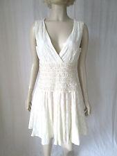 Monsoon Cotton V-Neck Regular Size Dresses for Women