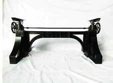 Industrial Crank Table Base | Cafe Dining Conference | Vintage French | ETA FEB