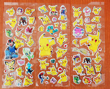 Wholesale 100Sheets 3D Pokemon go Pikachu Scrapbooking Stickers Children Gifts