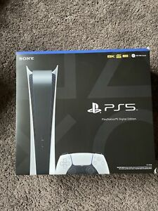 Sony PlayStation 5 DigitalEdition Console PS5 SEALED IN HAND Ships FAST