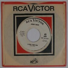 JERRY REED: I Feel For You / Woman Shy USA RCA Promo 45 Country Guitar HEAR