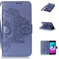 New Premium Embossed Phone Case For Samsung Galaxy A3 A5 J3 Wallet Leather Stand