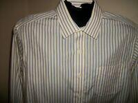 Men's Ralph Lauren Non Iron Long Sleeve Button Down Dress Shirt Size 16(32-33)