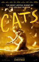 "Cats Poster 48x32"" 36x24"" 21x14"" Tom Hooper Movie Film Musical 2019 Print Silk"