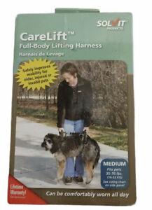 NEW IN BOX Solvit CareLift FULL BODY Medium Dog Lifting Harness 35-70 lbs