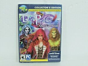 PC DVD-ROM Game- DARK PARABLES: QUEEN OF SANDS - Collector's Edition New Sealed