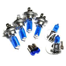 VOLVO S40 MK1 H7 H7 H3 T4W 55w ICE BLUE XENON alta/bassa/Nebbia/lato HEADLIGHT Bulbs