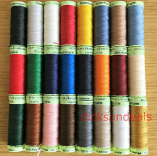 Gutermann Top Stitch Sewing Thread Polyester 30m Reels Extra Strong Jeans Button