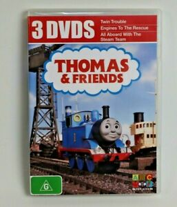 THOMAS AND FRIENDS TANK ENGINE 3 DVD'S 3 hours OF FUN