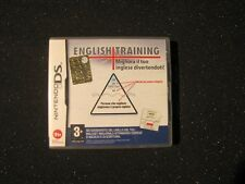 NINTENDO DS ENGLISH TRAINING   - GAME GIOCO  NINTENDO