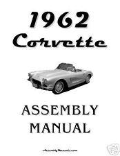 1962 Corvette Assembly Manual 62