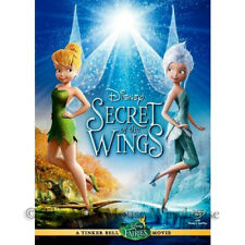 Disney Fairies TinkerBell Tinker Bell Periwinkle Secret of the Wings Movie DVD
