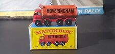 Matchbox Lesney Foden HOVERINGHAM 8 wheel Tipper #17 * With Box *