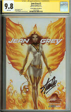 CGC SS 9.8 Jean Grey #1 Cover D Stan Lee White Phoenix X-Men Campbell Variant