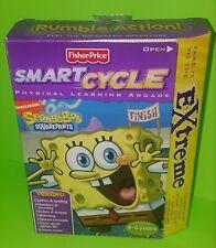 Fisher Price Smart Cycle SpongeBob Squarepants Extreme Game New