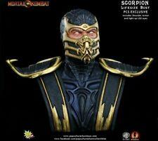 Life-Size Bust Mortal Kombat 9 Scorpion 1:1 Sideshow Ex Pop Culture Shock PCS