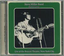 STEVE MILLER BAND - Rock Love + 11 Bonus Live at Beacon Theatre NYC - rare CD