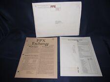 Texas Instruments TI 58 / 59 - PPX Exchange Program March/April 1981