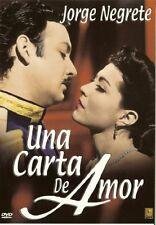 Una Carta De Amor (DVD, 2003)  SPANISH DVD ** Jorge Negrete  Español