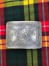 Scottish Kilt Belt Buckle Rampart Lion Antique Finish/Kilt Belt Buckle/kilt